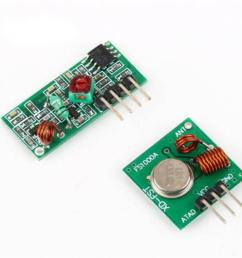 automation kit 433mhz rf transmitter and receiver module link for arm mcu wl diy 315mhz 433mhz wireless for arduino diy kit home automation system home  [ 1000 x 1000 Pixel ]