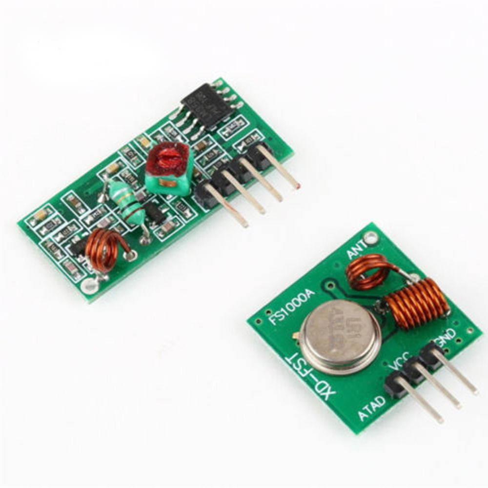 hight resolution of automation kit 433mhz rf transmitter and receiver module link for arm mcu wl diy 315mhz 433mhz wireless for arduino diy kit home automation system home