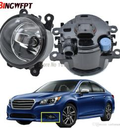 2x front bumper fog light for subaru legacy 2 5l h4 turbocharged 2010 2012 high brightness halogen fog lamp 12v 4300k warm white hid lights installation hid  [ 1000 x 1000 Pixel ]
