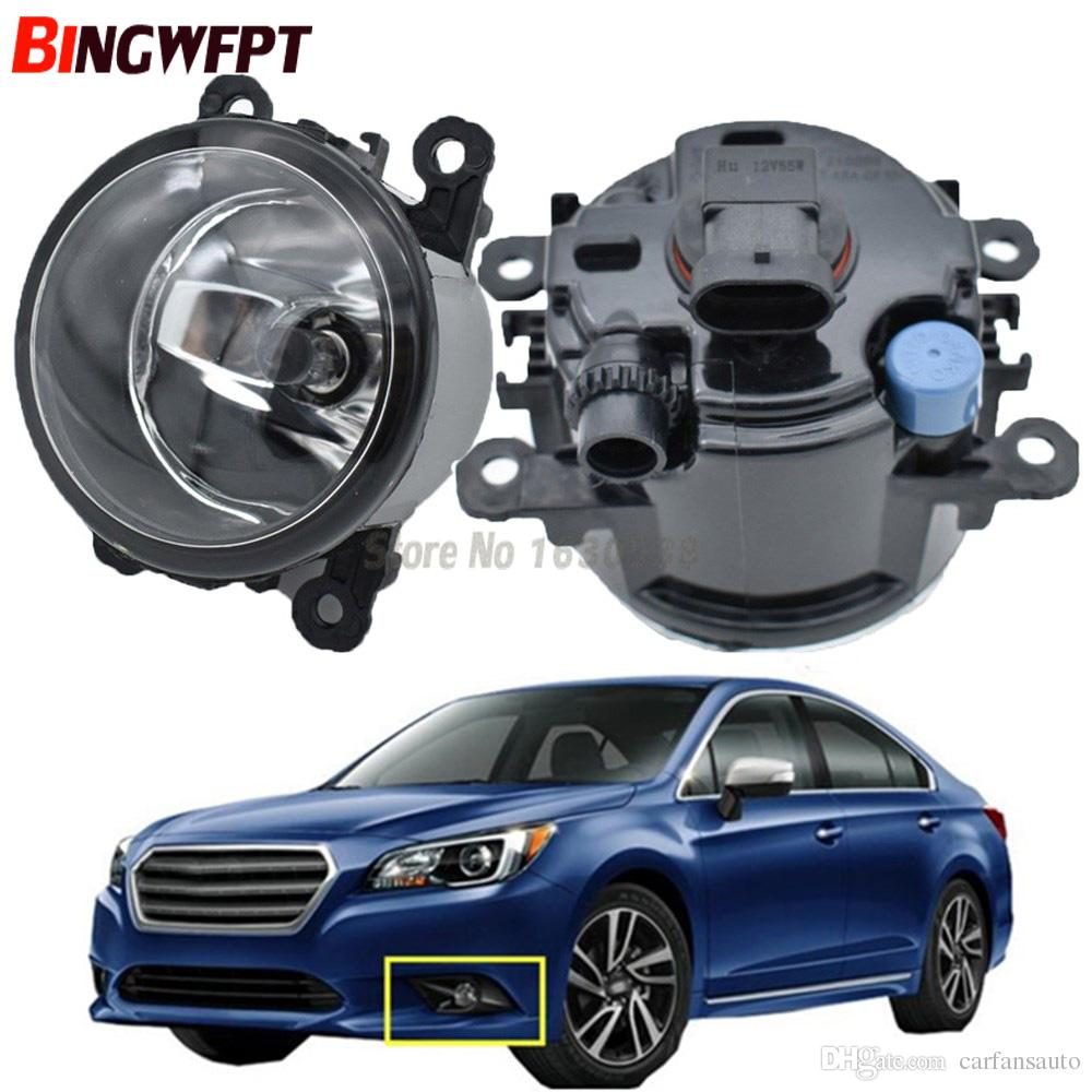 medium resolution of 2x front bumper fog light for subaru legacy 2 5l h4 turbocharged 2010 2012 high brightness halogen fog lamp 12v 4300k warm white hid lights installation hid