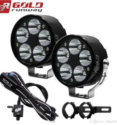 2019 universal motorcycle fog light cree u3 led 3 modes auxiliary lamp 10 30v motorbike headlight truck spot light with mounting clamps from radiant2014  [ 1000 x 1000 Pixel ]