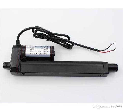 small resolution of 14 inch 14 stroke 350mm stroke black color linear actuator 12 volt 12v 225 pounds lbs maximum lift for window opener