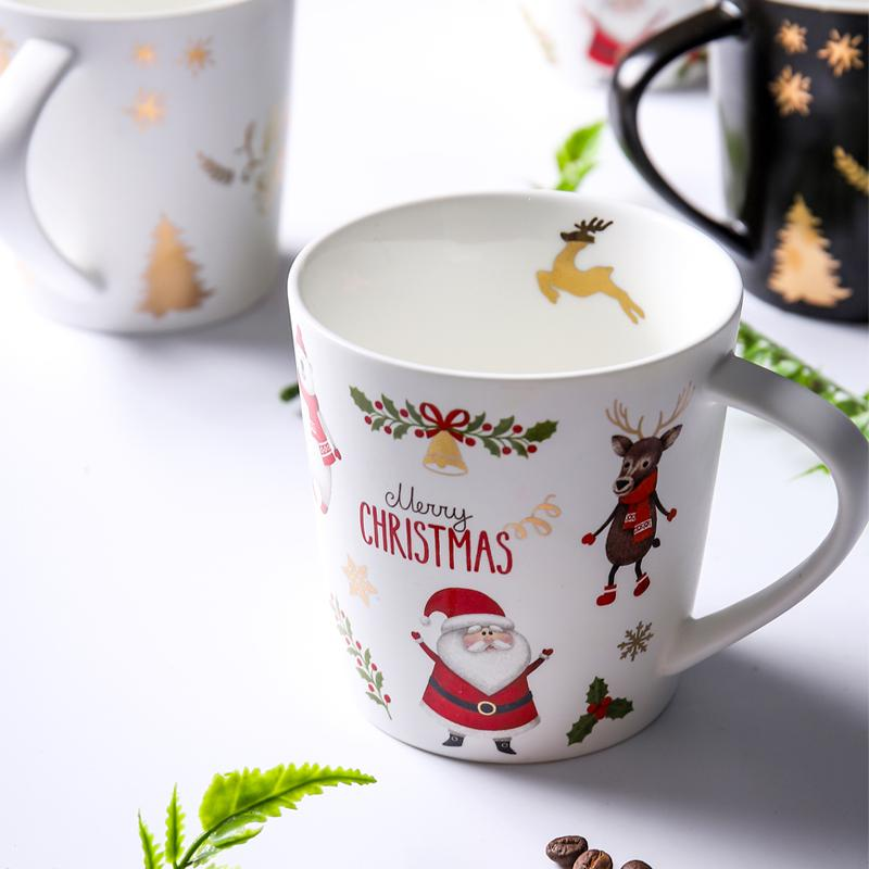 christmas ceramic cute mug