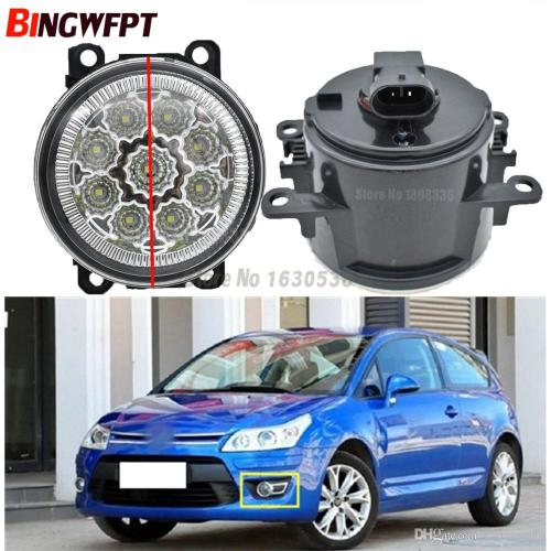 small resolution of fog lamp assembly super bright fog light for citroen c3 c4 c5 c6 c crosser xsara picasso 1999 2015 led fog lights uk 2019 from carfansauto