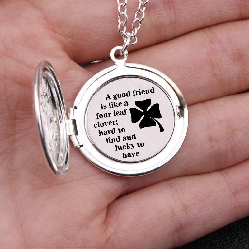 good friend necklace good