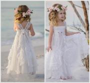 2019 bohemian flower girls dresses