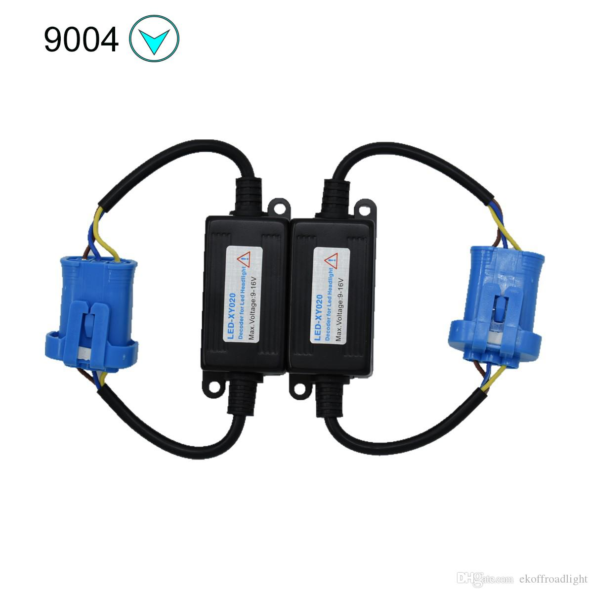 hight resolution of 2019 ecahayaku h3 9005 9006 h1 h11 h4 h7 led canbus car headlight decoder wiring adapter drl led lamp error canceler fog light canbus from ekoffroadlight