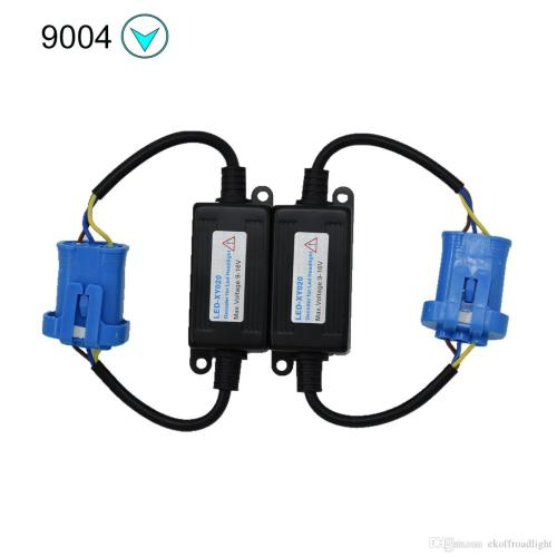 small resolution of 2019 ecahayaku h3 9005 9006 h1 h11 h4 h7 led canbus car headlight decoder wiring adapter drl led lamp error canceler fog light canbus from ekoffroadlight