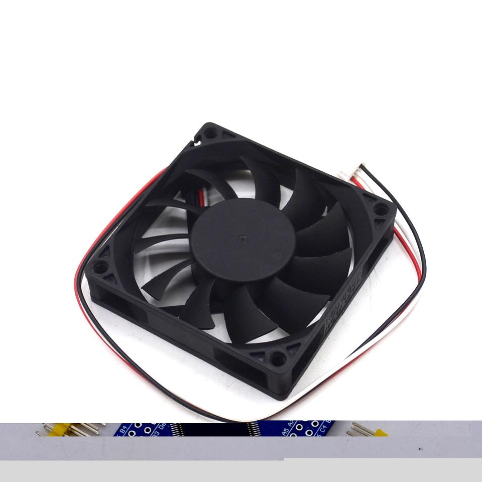 hight resolution of 2019 cooling fan orginal ds07015r12m 3 wires temperature control cpu cooling fan dc 12v 0 4a 7015 70 70 15mm 7cm from battery 888 18 65 dhgate com