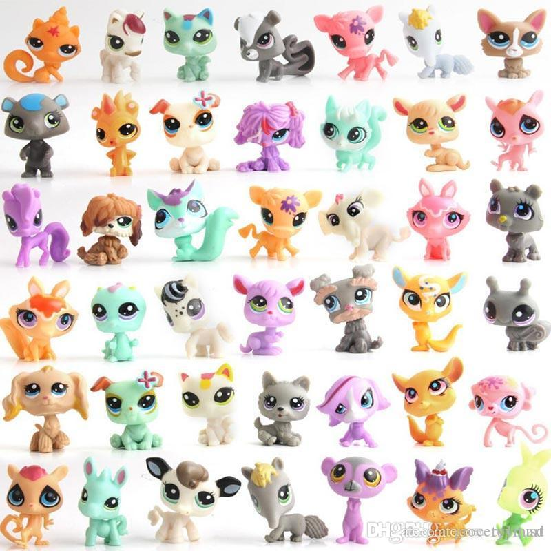 lps mini cartoon pets