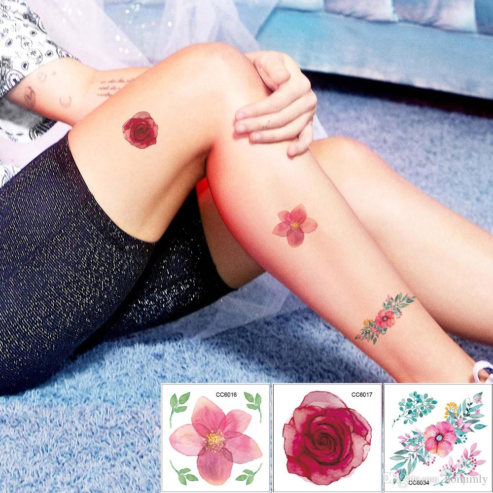 Lotus Flower Tattoo Wrist Small