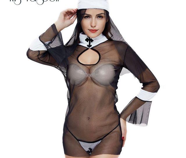 Lencer A Sexy Hot Erotic Women Cosplay Monjas Jpg