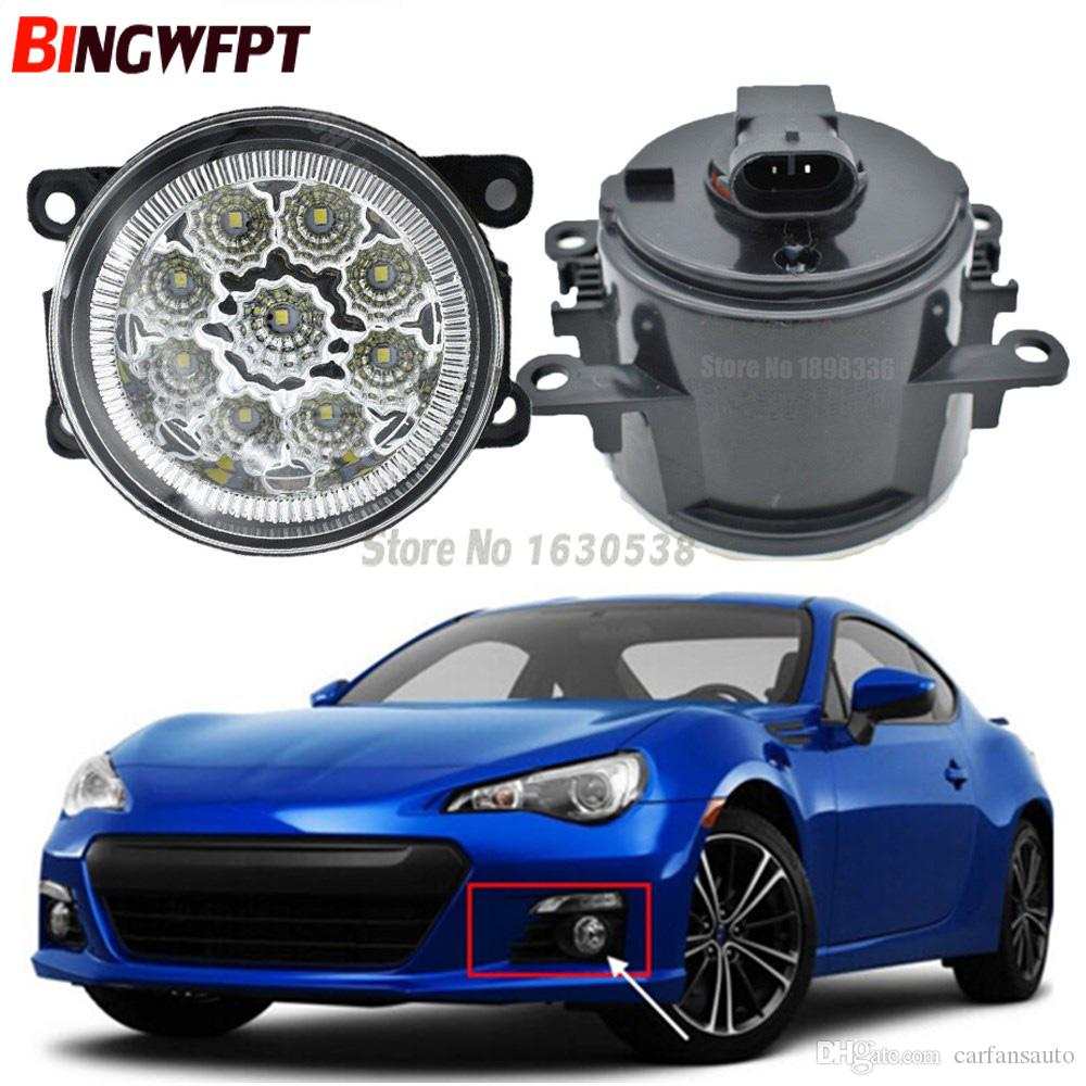 hight resolution of  pair fog lamp assembly super bright led fog light chips white yellow for subaru brz 2013 2017 hid lights for cars price hid lights for sale from