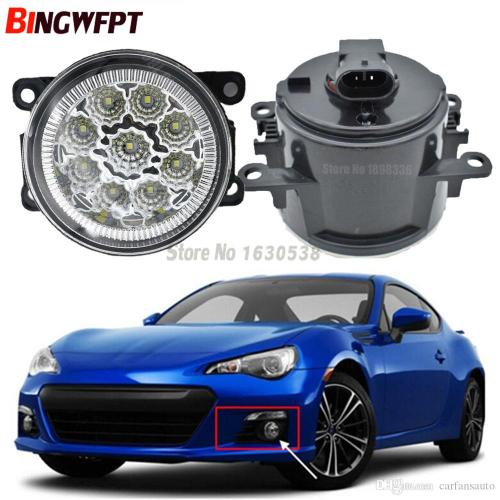 small resolution of  pair fog lamp assembly super bright led fog light chips white yellow for subaru brz 2013 2017 hid lights for cars price hid lights for sale from