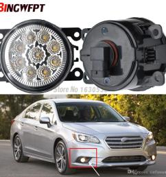 pair fog lamp assembly super bright led fog light chips white yellow for subaru legacy 2013 2014 2015 hid lamps for cars hid light from carfansauto  [ 1000 x 1000 Pixel ]