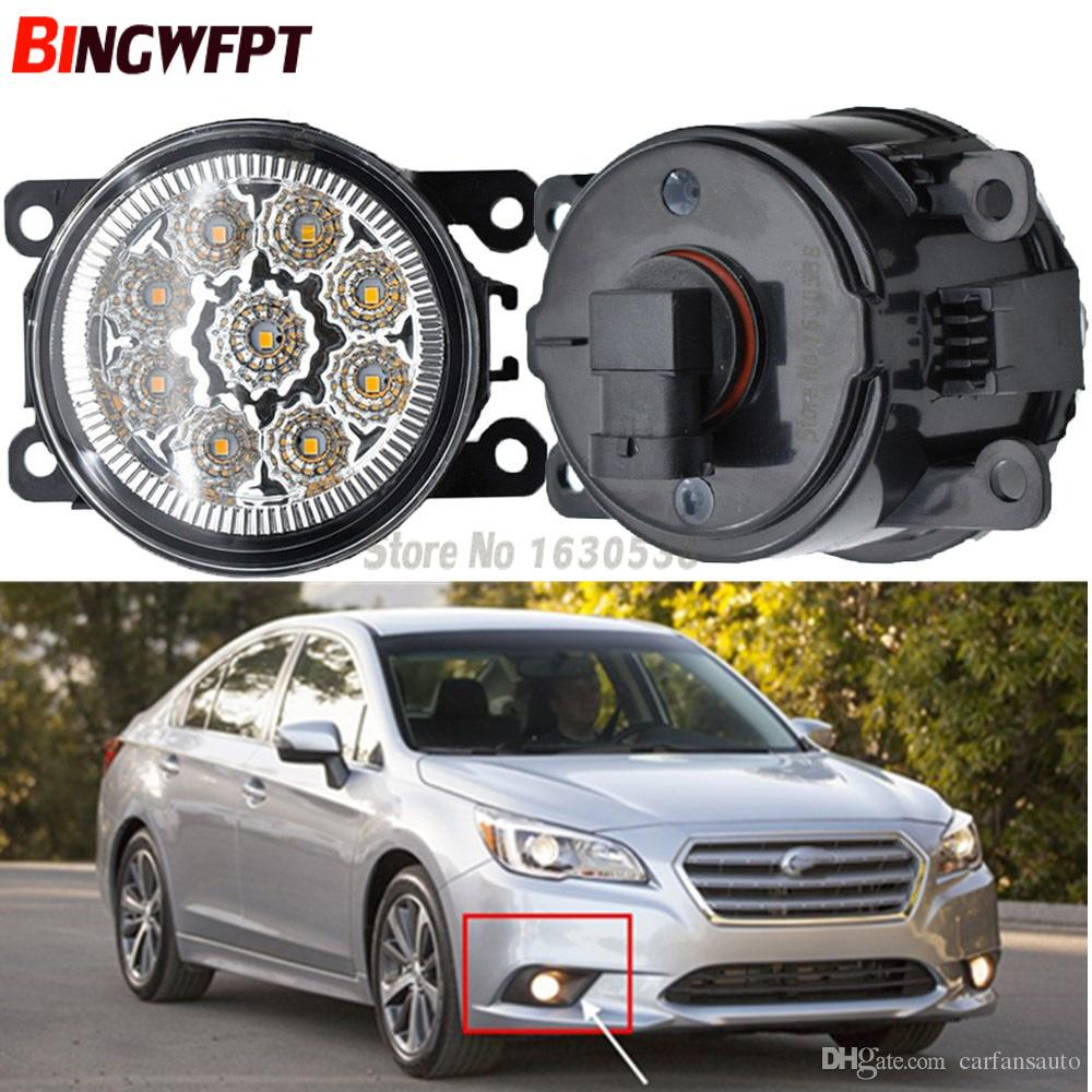 hight resolution of  pair fog lamp assembly super bright led fog light chips white yellow for subaru legacy 2013 2014 2015 hid lamps for cars hid light from carfansauto