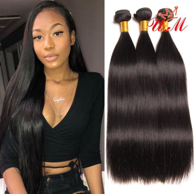 cheap human hair weave bundles brazilian straight human hair 4 bundles brazilian straight weave hairstyles for fashion girl