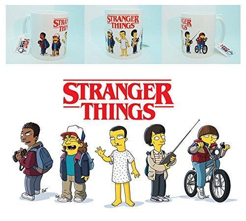 stranger things simpsons funny