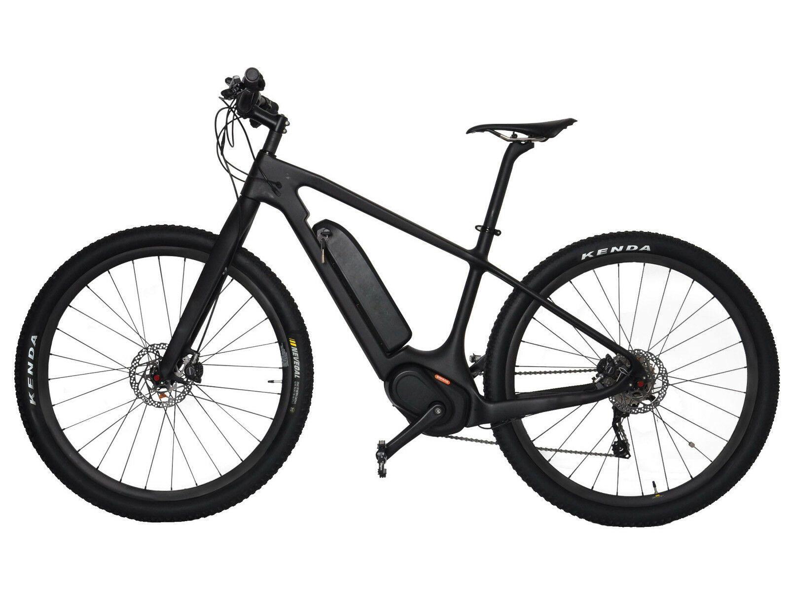 29er E Bike 18 Carbon Frame Fork Mtb Motor Wheel