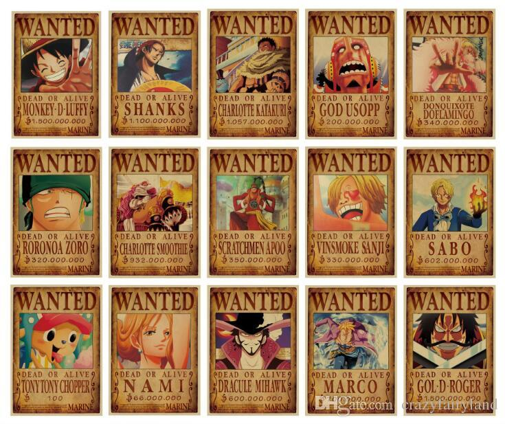 luffy one piece wanted