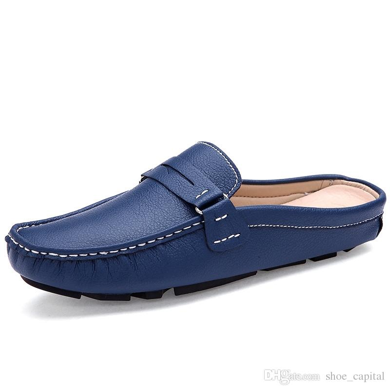 Backless Slip On Shoes For Men