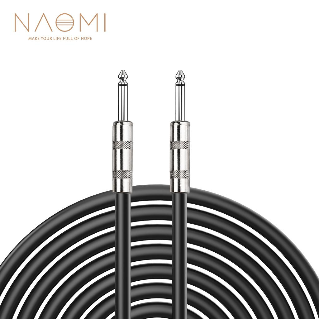 2020 NAOMI 6.35mm Jack Audio Cable 6.5mm Male To Male