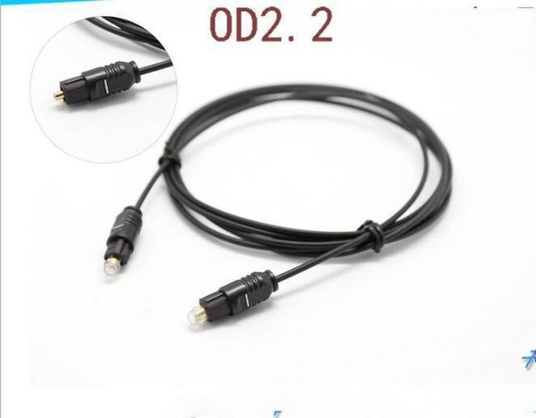 Durable OD2.2 Plated Digital Audio Optical Optic Fiber