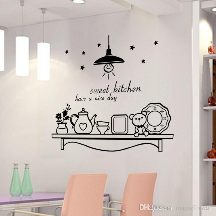 Sweet Kitchen Have A Nice Day Wall Sticker Decoration Wall
