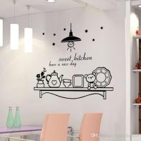 Sweet Kitchen Have A Nice Day Wall Sticker Decoration Wall ...