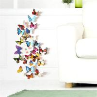 Colorful Design 3d Butterfly Wall Sticker Decor ...