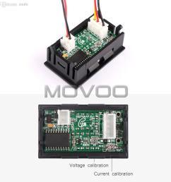 wholesale 2in1 digital voltmeter ammeter dc 0 100v 50a dual display volt amp meter dc 12v 24v red blue voltage meter ampere meter shunt ammeter shunt  [ 1000 x 1000 Pixel ]
