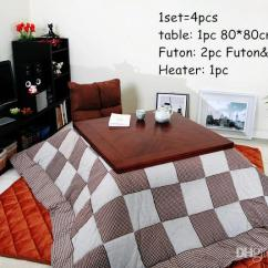 Japanese Living Room Set Hgtv Rooms Ideas 2019 Sets Kotatsu Furniture Asian Traditional Low Wooden Coffee Table Foot Warm Futon Heater From Klphlp