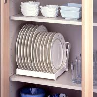 Hot Sell Foldable Dish Plate Drying Rack Organizer Drainer