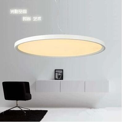 Smd 2835 Ultra Thin Led Panel Lights Disc Flying Saucer