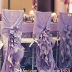Purple Chair Sashes For Weddings Gaming And Desk 2019 2015 Sash With Big 3dchiffon Delicate Wedding Decorations Covers Accessories From Weddingjunyan