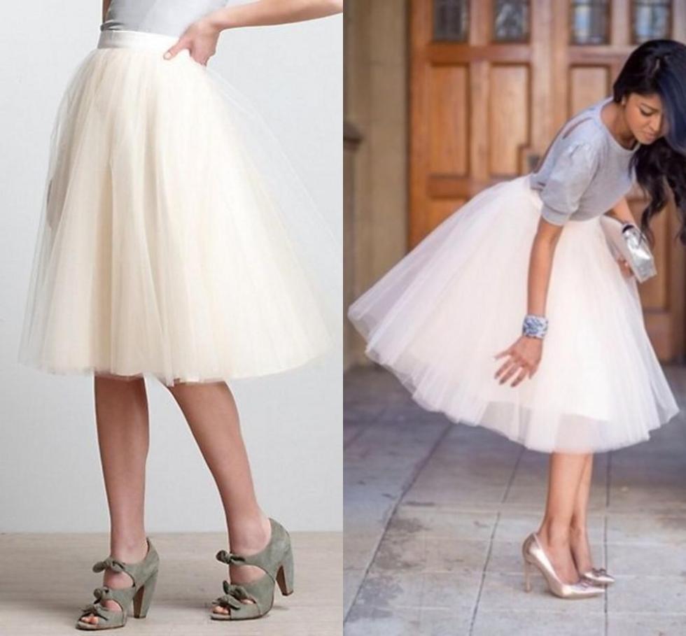 2015 Wholesale Layered Mid-Calf Princess Skirt Adult Tulle ...
