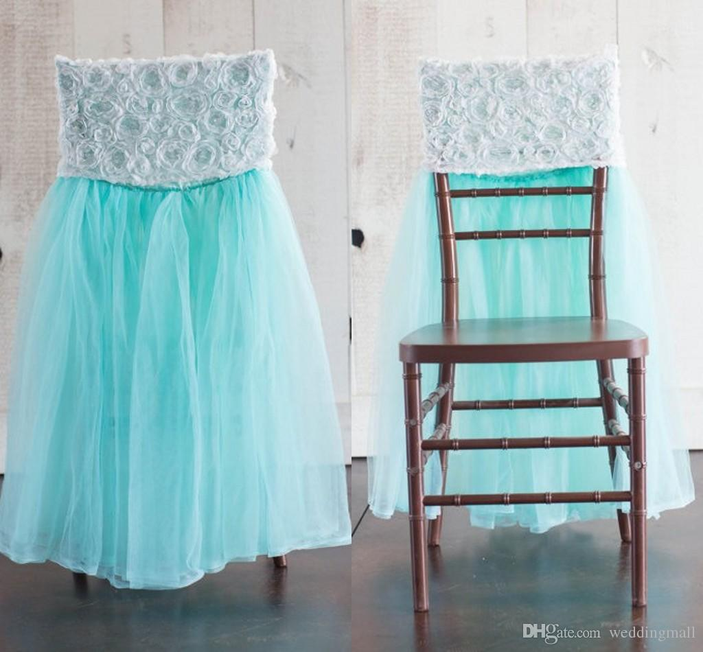 wedding chair sash accessories container store bungee 2015 tulle for weddings 3d flowers romantic