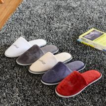 Quality Disposable Slippers White Black Cotton Slip