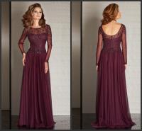 Plum Color Mother of the Bride Dresses   Dress images