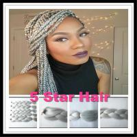 Kanekalon Braiding Hair Synthetic Jumbo Braiding Hair 50 ...
