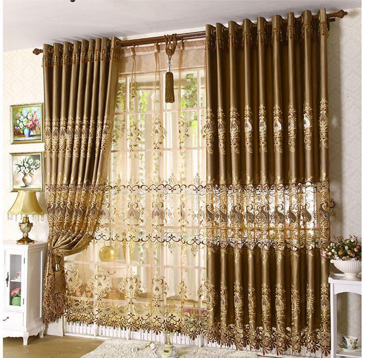 Best Quality 2015 New Cortina Cortinas Home Decor Continental