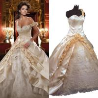 Vintage Victorian Ball Gown Wedding Dresses Sweetheart ...