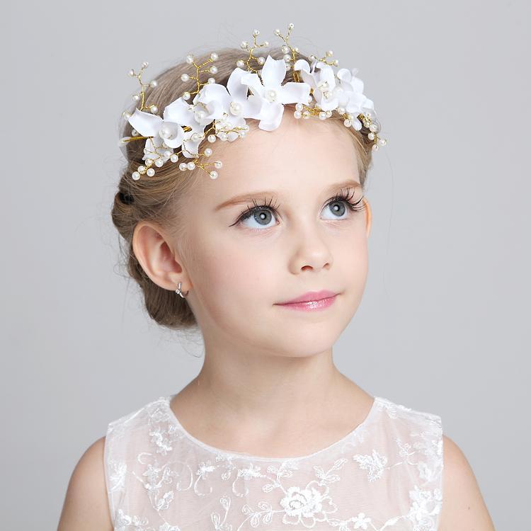 Charming Cute Kids Children Veils Head Pieces To Match