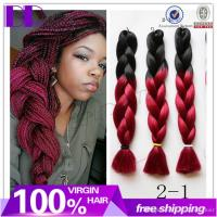 Ombre Synthetic Hair Braiding 100g 24inch Yaki Straight ...