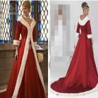Christmas Ball Gown Wedding Dresses