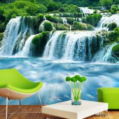 Living Room Waterfall Furniture Decorating Ideas For Dulux Custom Vintage Wallpapers 3d Water3d Landscape Mural Wallpaper Roll Size Canada 2019 From Chinamural2015 Cad 38 59 Dhgate
