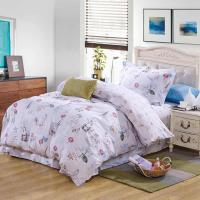 Flower Butterfly Character Eiffel Tower Comforter Bedding ...