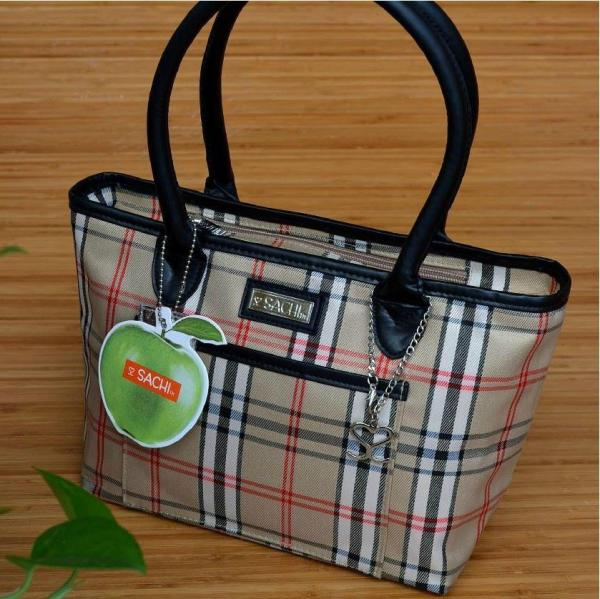 2018 Sachi Fashion Small Insulated Lunch Bag Tote Brown Women Thermal Bags Picnic