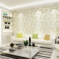 Embossed 3d Flower Wallpaper For Walls Pink Tapet For Wall ...