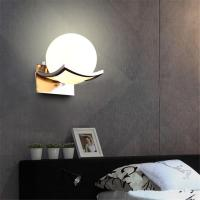 2018 Unique And Novelty Led Wall Lamps Glass Ball Wall ...